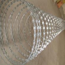 pasture boundary razor blade barb wire strand (concertina)
