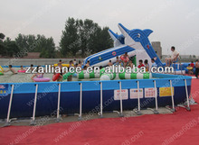 removable steel frame water pool adults swimming pool