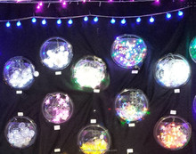 Shenzhen Tobest Display wholesale costom clear acrylic ball ornament
