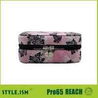 Femal fabric paper handmade jewelry box jewelry ring box