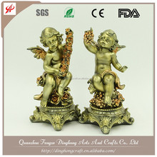 Wholesale Resin and Cross Religious Crafts Bronze Brass Nude Sculpture Statue