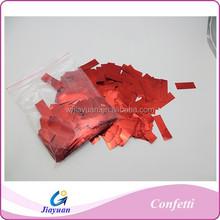 Party foil confetti, Wing shape foil confetti,multicolor metallic confetti