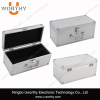 Heavy Duty Aluminum Luggage Case Durable Carrying Storage Box