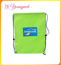 2016 Custom Waterproof Fold Up Polyester Drawstring Bag