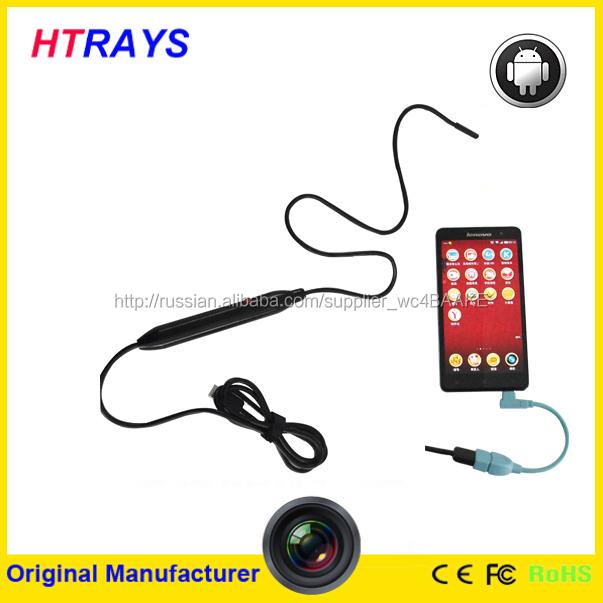 5.5 мм 6LED микро USB водонепроницаемый андроид эндоскопа бороскоп труба инспекции камеры 1 м / 50 см