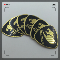 custom made aluminum badges logo emblems