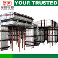 Aleación de aluminio instalado fácilmente usando pines / cuñas / tiesformwork pared