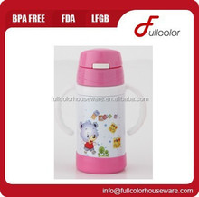 BPA free double wall stainless steel baby bottle