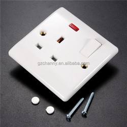 Hot Sale UK Plug Wall Socket Power Adapter Charger Outlet Switch Station Panel With LED New Good Quality Easy To Install