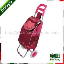 folding powder coating cart best quality six can cooler bag