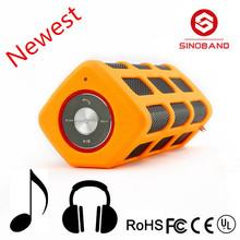 2015 Sinoband S400 Waterproof Bluetooth Speaker with Powerbank,The Perfect Indoor Outdoor Speaker