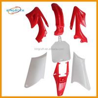Red plastic set Orion Apollo type plastics fender cover For Pitbike
