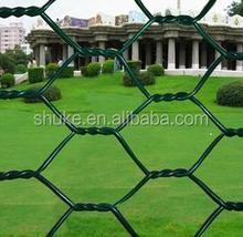 Wholesale galvanized hexagonal wire mesh with pvc coated /chicken coop hexagonal wire mesh
