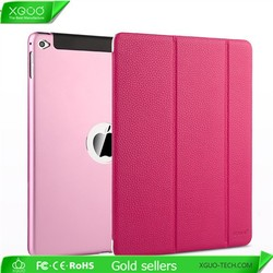 leather smart case for iPad mini 3 smart cover, for luxury iPad mini 3 case