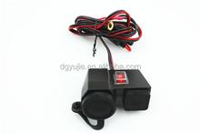 Universal AC to DC Car Cigarette Lighter Socket Adapter