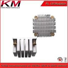 Production small metal aluminum heatsink