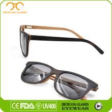 High quality black ebony wood/bamboo/horn sunglass for wholesale in China