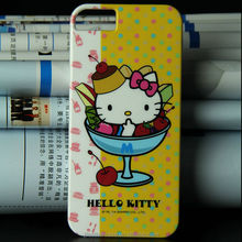 2014 top hot selling Cheaper soft silicone hello KIT cell phone case for Iphone 5s protector