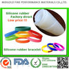 low price silicon rubber for silicone wrist band silicone bracelet