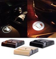 Customized wireless led car door logo laser projector light 12V 5W No Drill