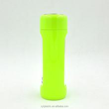 2015 nuovo stile e bpa 500ml ad alta pyrex acqua bottiglia di vetro con custodia in silicone