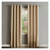 Microfiber Polyester Blackout Curtain for Living Room with grommets,Beige color