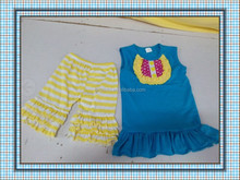 new arrival! top tank and shorts/capris/pants set summer sets wholesale boutique sets persnickety girls outfits