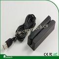 MSR100 USB / PS2 / RS232 / TTL Interface Lector de Tarjetas Magnética, 3 pista cabeza magnética