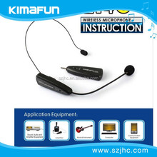wireless headset 2.4GHz microphone with USB for sound devices