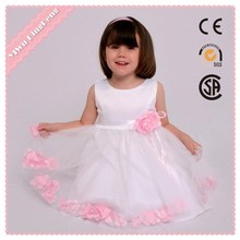 Wholesale fashion 3 years old girl flower fancy dress competition