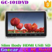 Super Slim 10 inch TFT LCD HDMI Touch Car Headrest Monitor