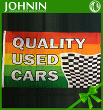 Custom 100% Polyester Flying QUALITY USED CARS Promotion Advertising Sale Flag
