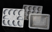 CPET disposable plastic airline food tray
