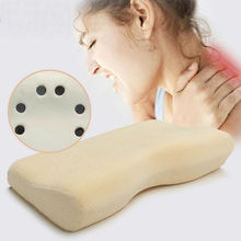Factory Exporting High Quality Memory Foam Pillow with Magnetic Therapy