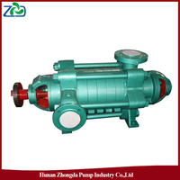 ZHONGDA D Type Electric High Pressure Horizontal Multi-stage Centrifugal Water Pumps