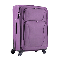 Stocklot Overstock Closeout polyester travel bag luggage, surplus clearance excess inventory hybrid rolling travel bag suitcase