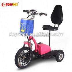 Trade Assurance 350w/500w lithium battery self balance electric wheel with front suspension