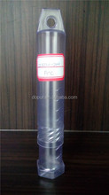clear cylinder plastic tube 12*120-200mm