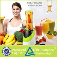 2015 new design plastic mini electric kitchen fruit mixer blender