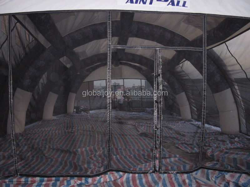 paintball tent/inflatable paintball field/paintball inflatables