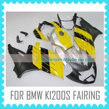 aftermarker Injection Mould fairings for BMW K1200S BLACK&YELLOW
