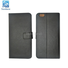 Mix colors Book Wallet Stand Flip Leather mobile case for iphone 6 5.5 inches