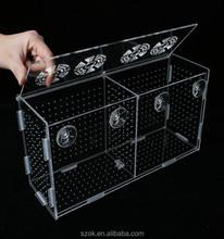 manufacturer supplies transparent acrylic fish tank