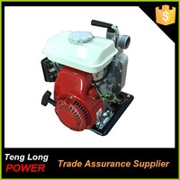 china professional factory portatble design 3 hp 1 inch irrigation gasoline fuel water pompa