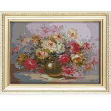 5d diamond painting abstract flower painting wall pictures for living room