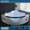 HS-B301 modern bathroom tubs/ cheap corner bathtub/ led massage bathtub