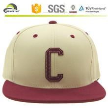 Plain Custom Leather Belt Snapback Cap Hats Rope