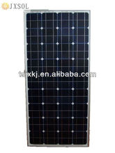JX 140W monocrystalline solar panel/high efficiency/hot sale/tuv/cec