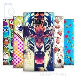 Hot selling Wholesale China Flower Animal Cartoon Paintable Hard Plastic Case for Nokia Lumia 930