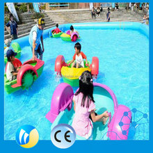 Electric boat paddle boat kids playground equipment water hand boat